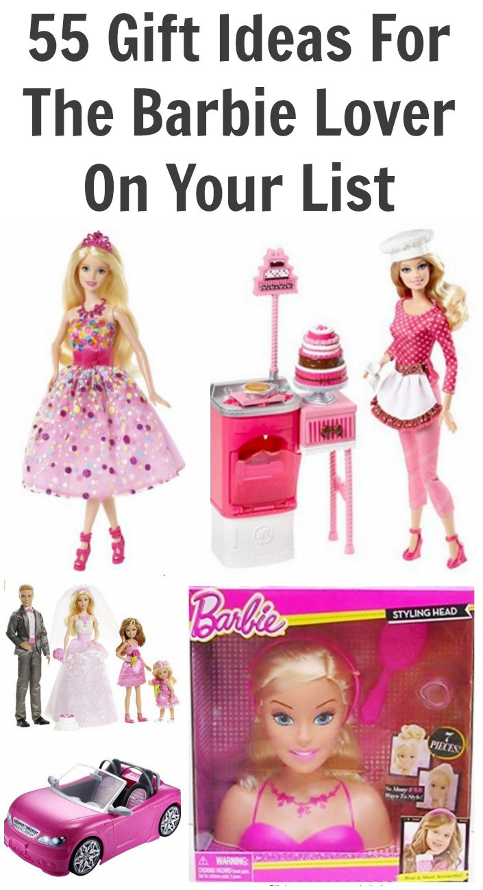 55 Gift Ideas For The Barbie Lover On Your List