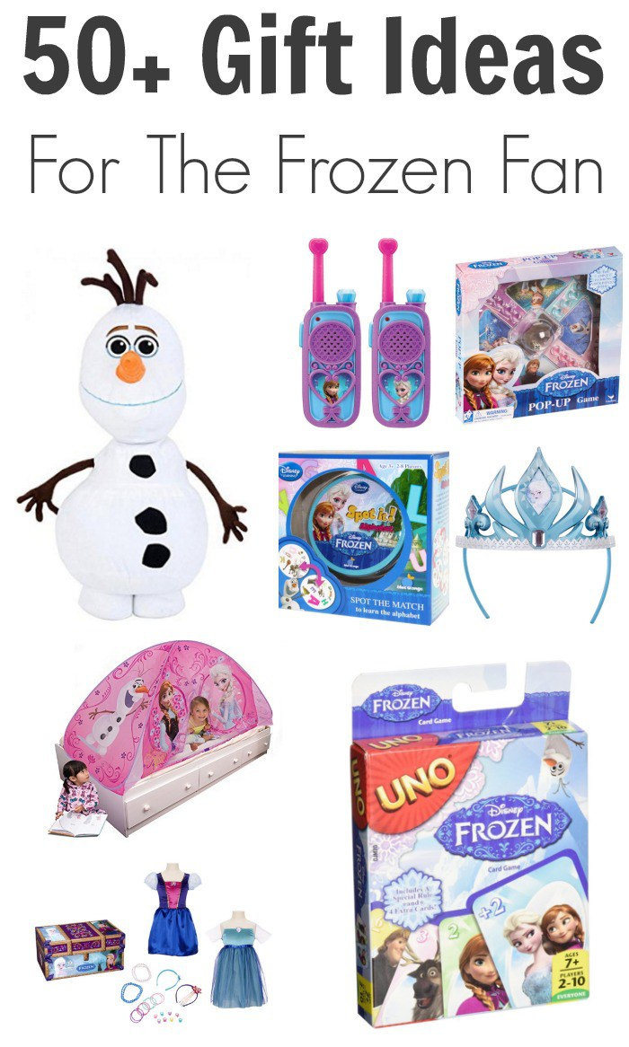 50+ Frozen Gift Ideas