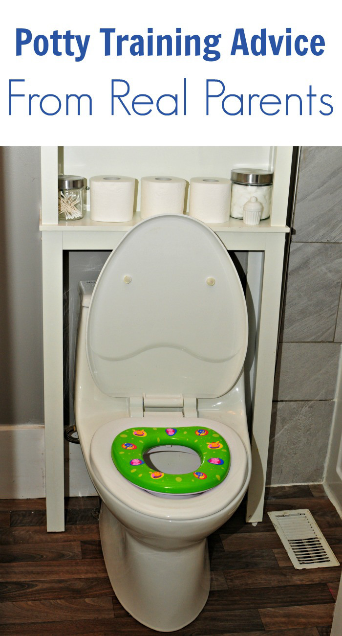 Potty Training Advice From Real Parents