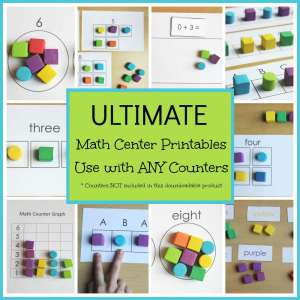 Ultimate Math Center Printable