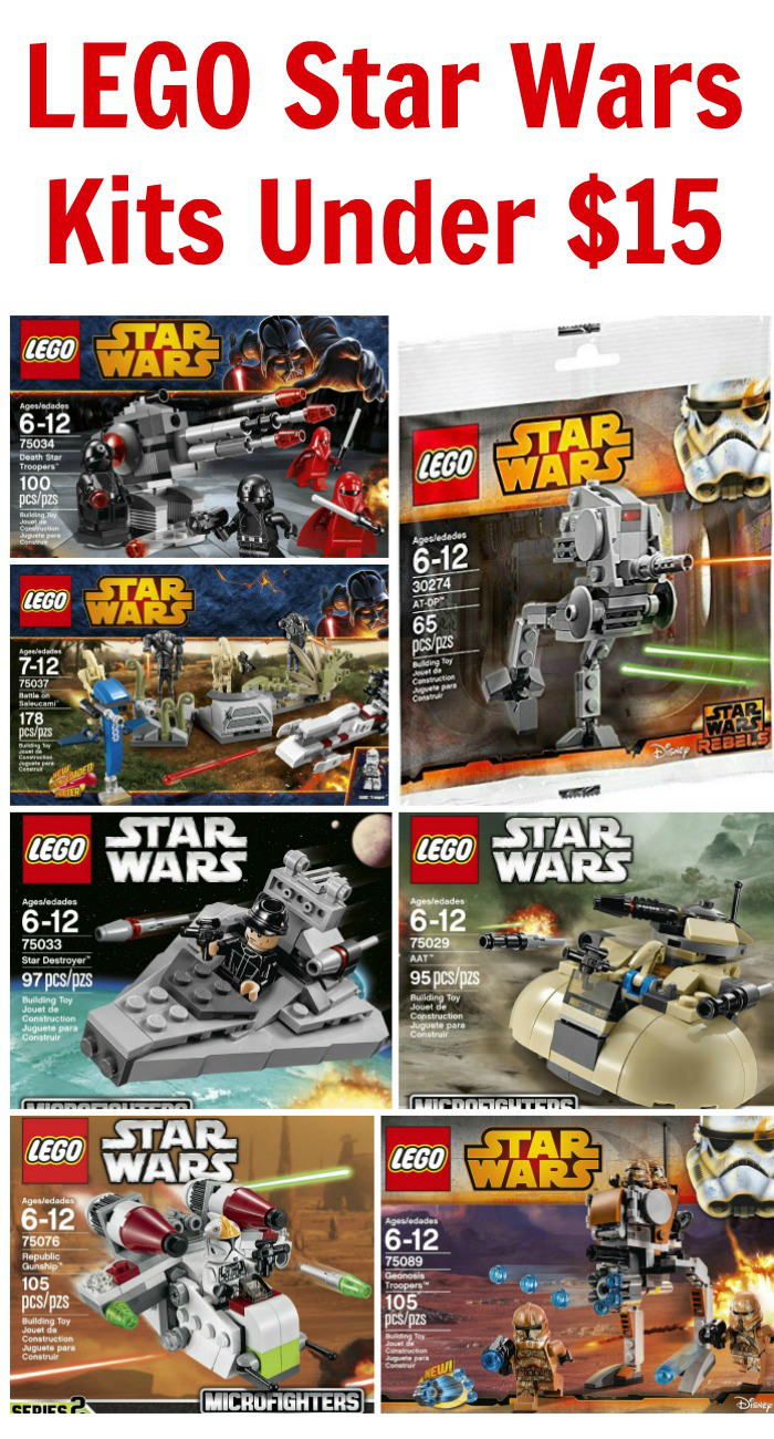 LEGO Star Wars Kits Under $15