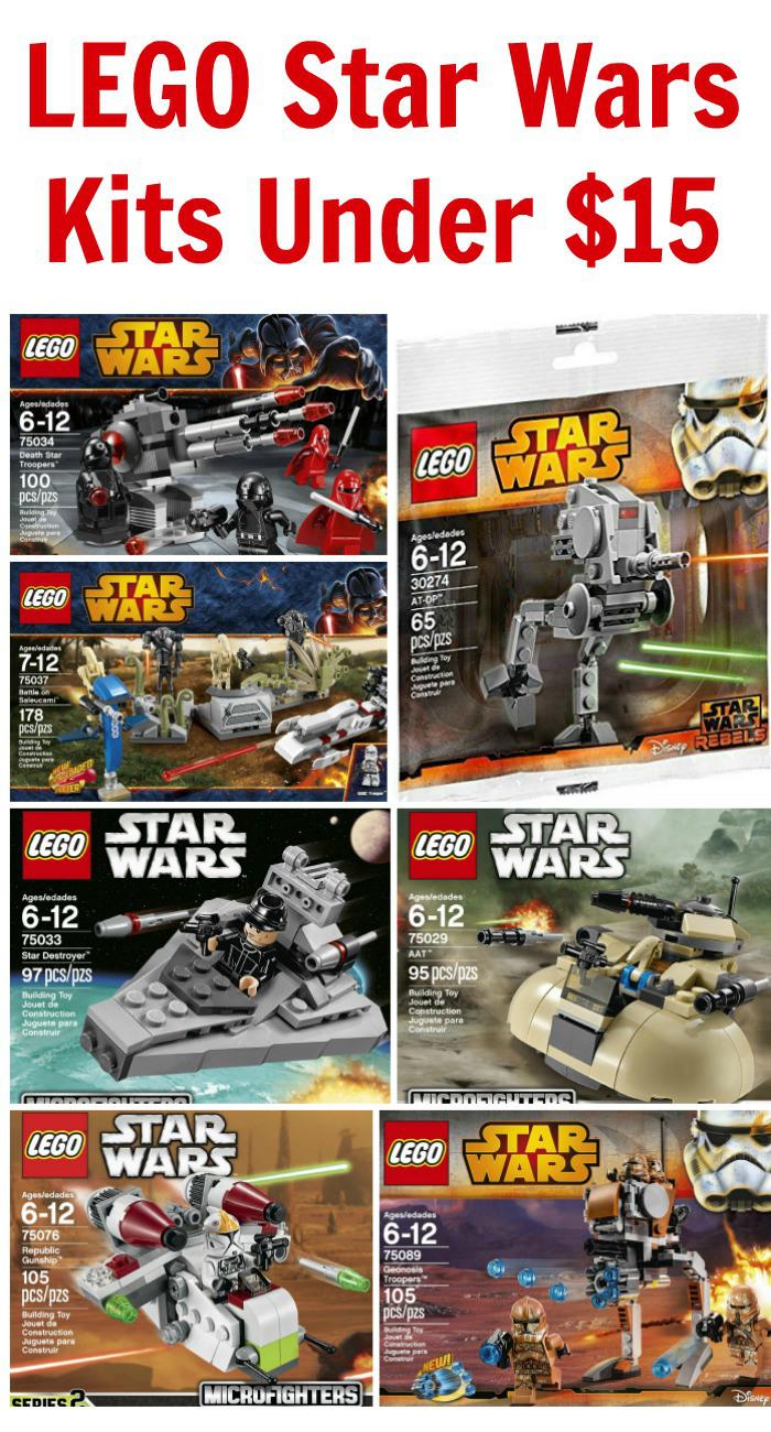 LEGO Star Wars Kits Under $15