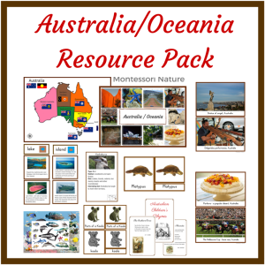 Australia-OceaniaResource Pack