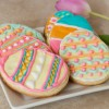 Simple and Easy Easter Egg Cookies with Rolled and Ready Dough