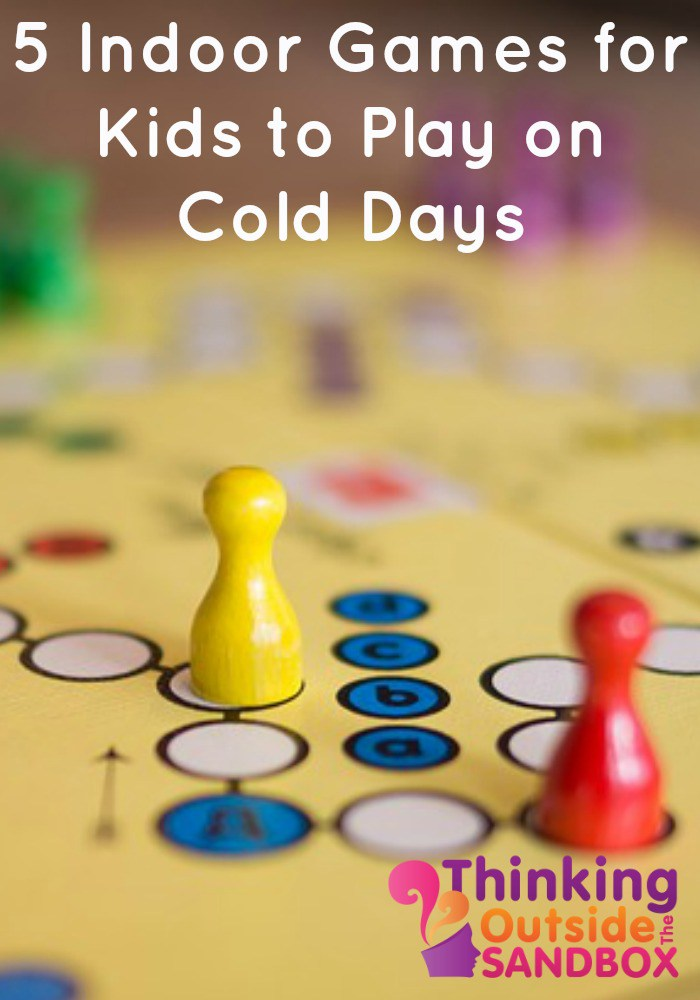 5 Indoor Games for Kids