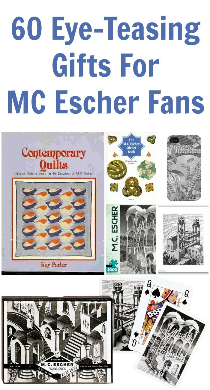 60 Eye-Teasing Gifts For MC Escher Fans