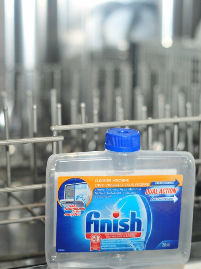 Finish Dishwasher Cleaner After
