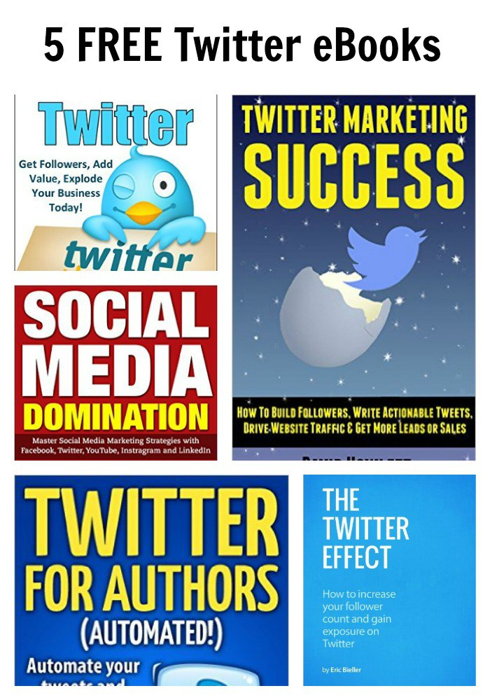 5 FREE Twitter eBooks