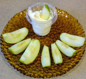 Easy Marshmallow Cream Cheese Fruit Dip