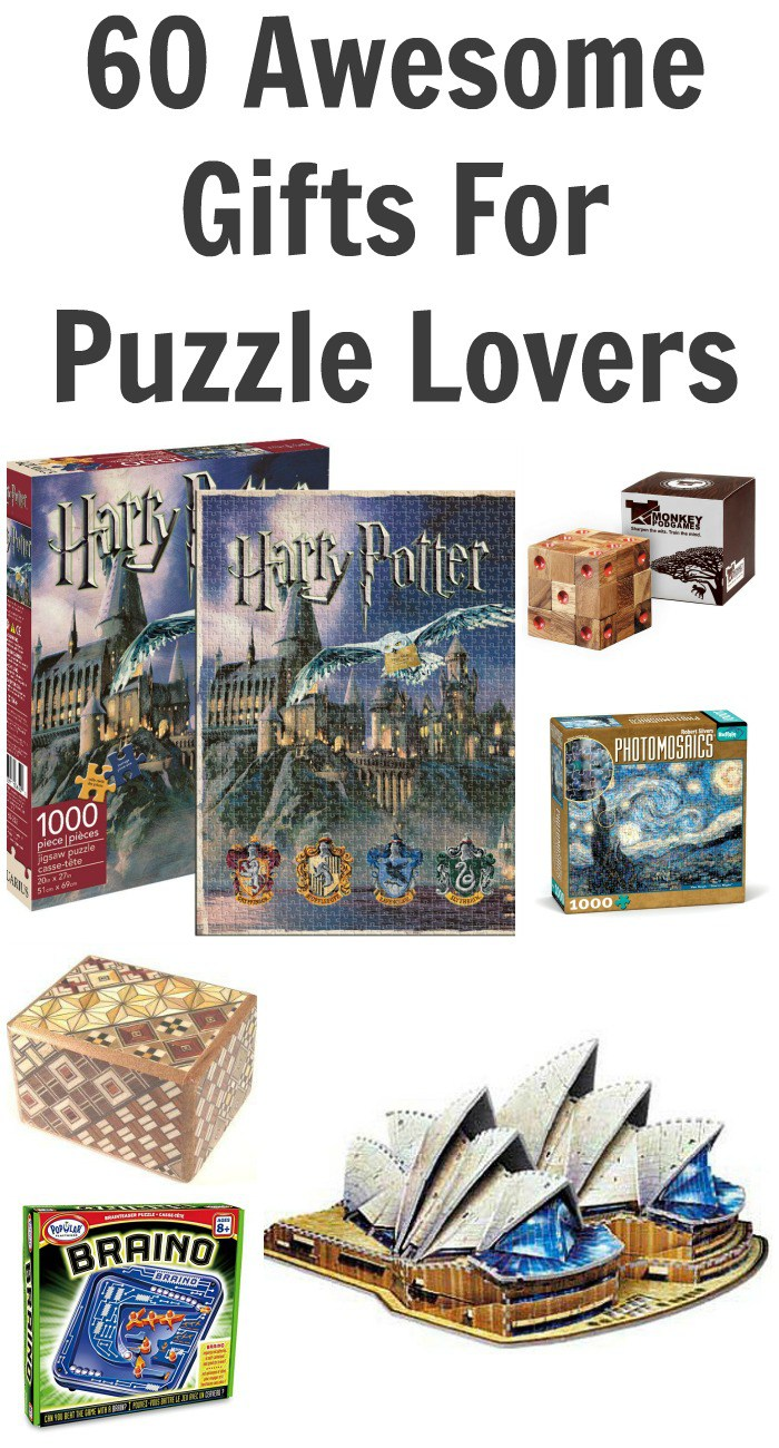 60 Awesome Gifts For Puzzle Lovers
