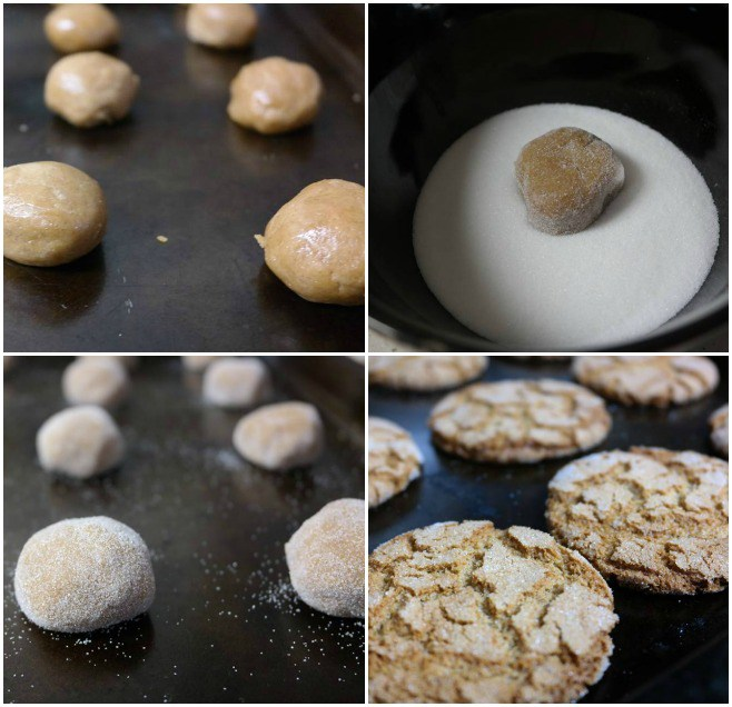 Molasses Crinkle Cookie Recipe