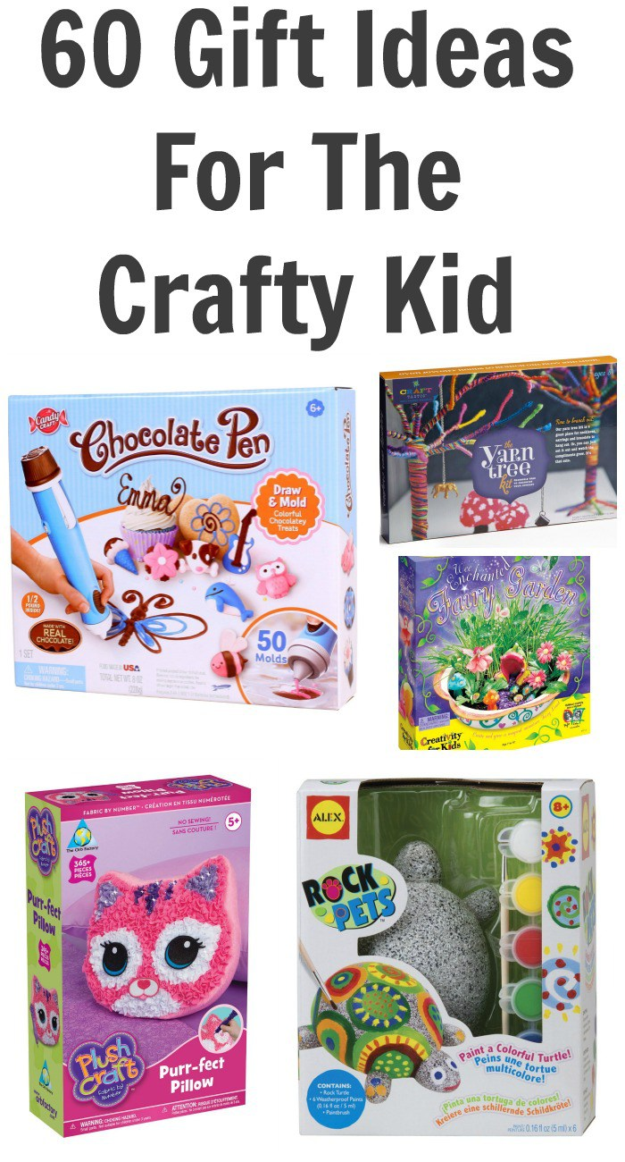 60 Gift Ideas For The Crafty Kid