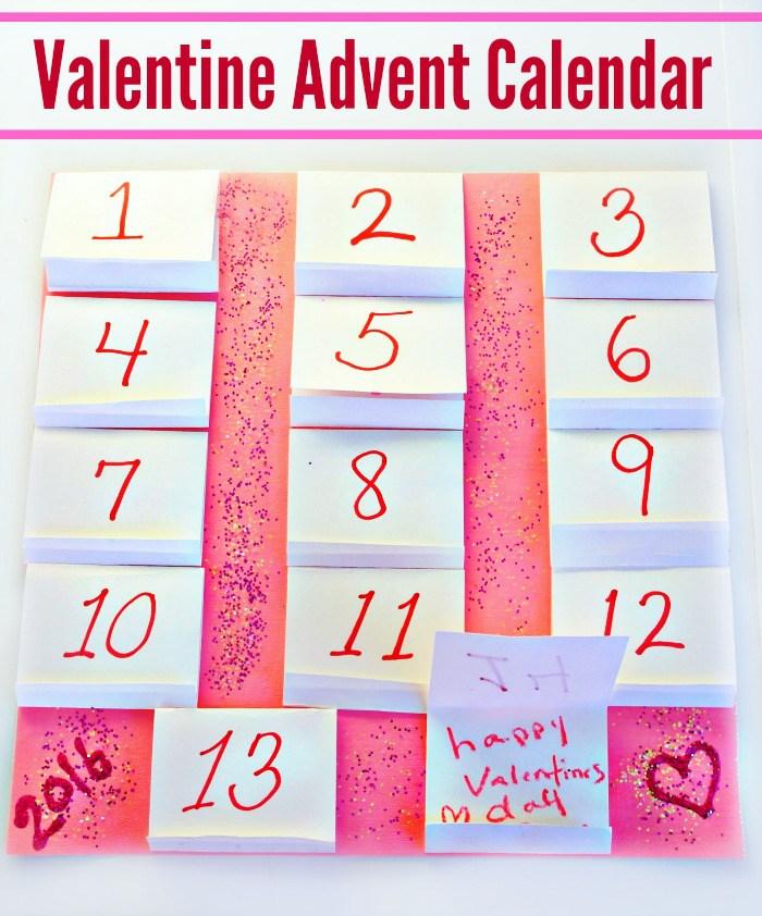 Fun Valentine Advent Calendar