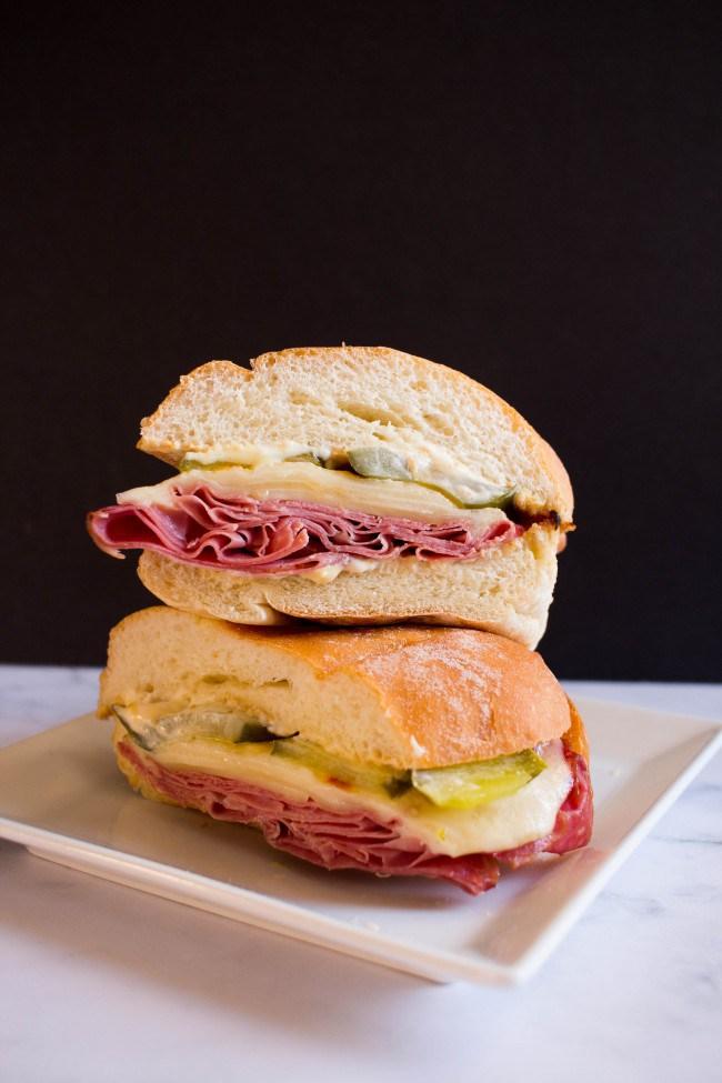 Deli Style Corned Beef Sandwich