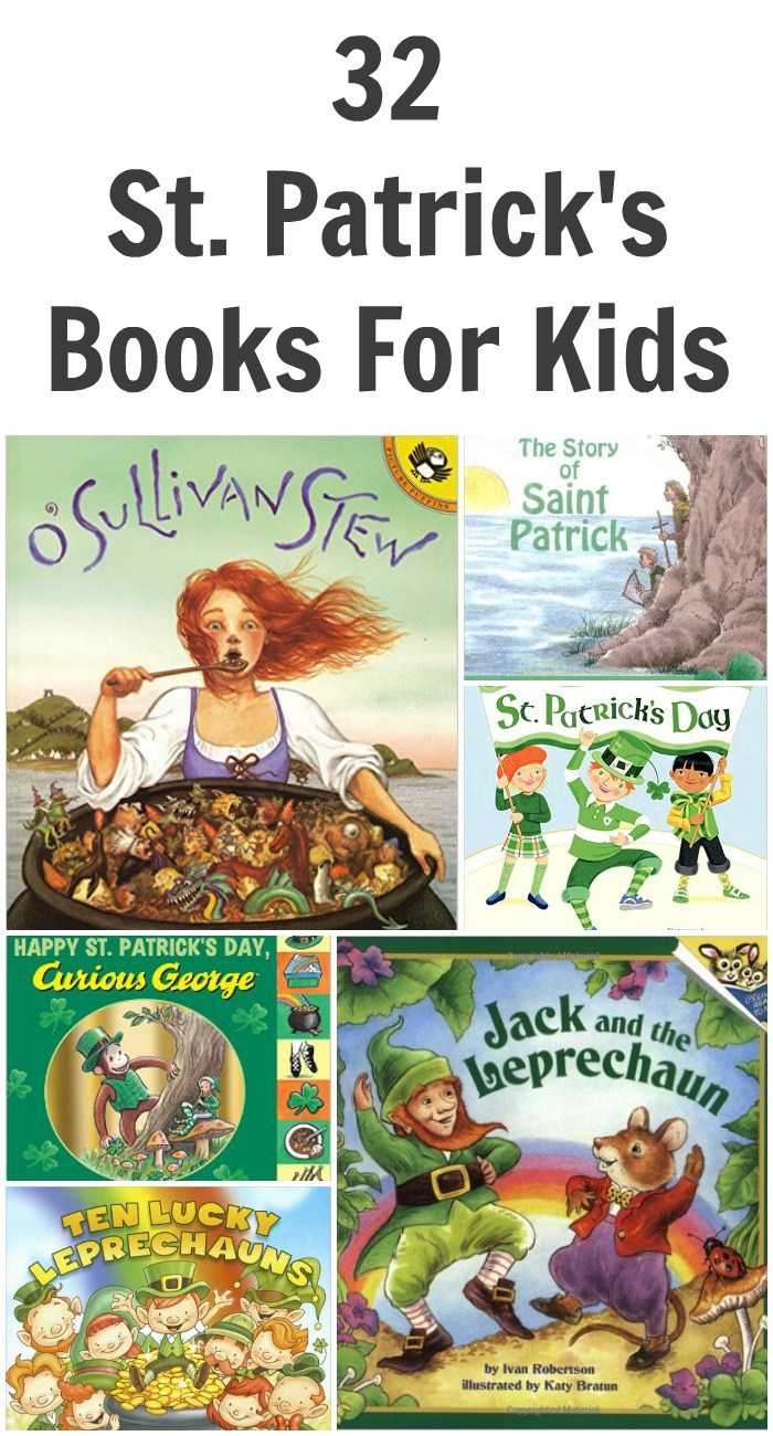 32 St. Patrick's Books For Kids