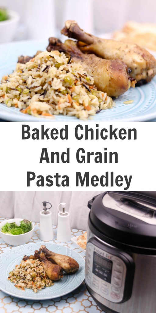 Baked Chicken & Grain Pasta Medley