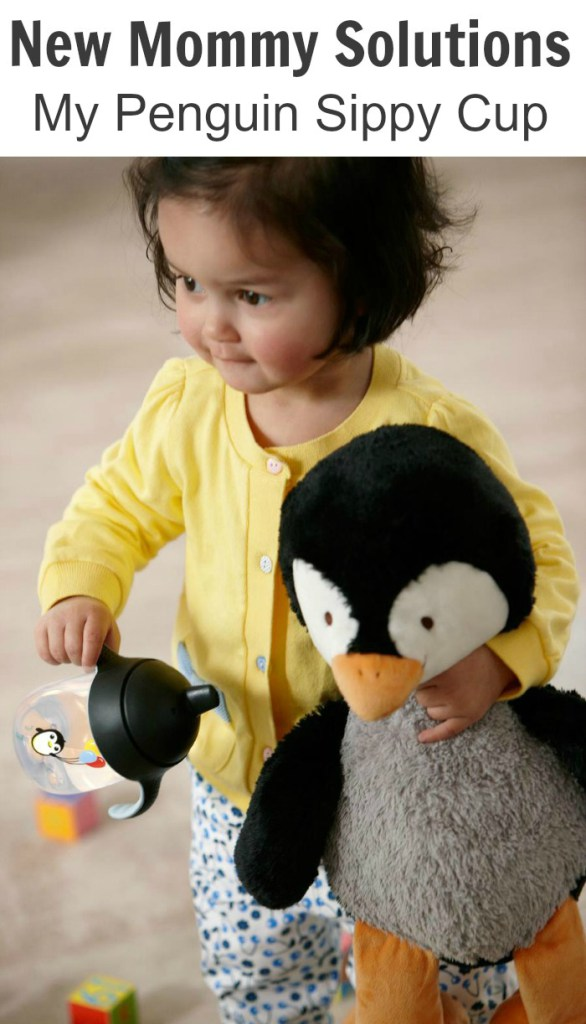 New Mommy Solutions: My Penguin Sippy Cup Made By Avent