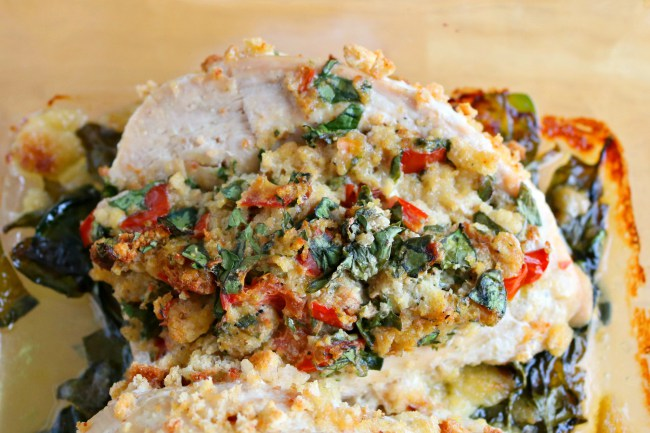 stuffed chicken process 5