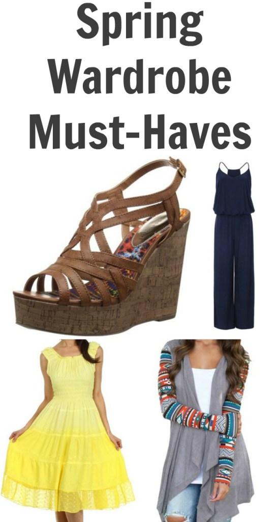 Spring Wardrobe Must-Haves