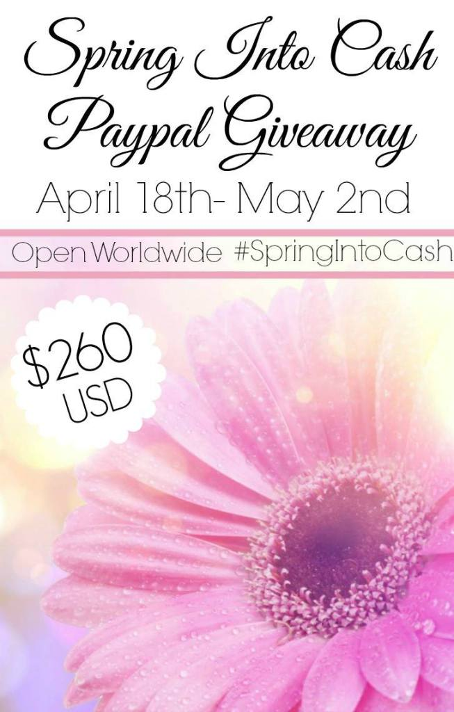 Win $260 - Ends May 2 2016 Open Worldwide