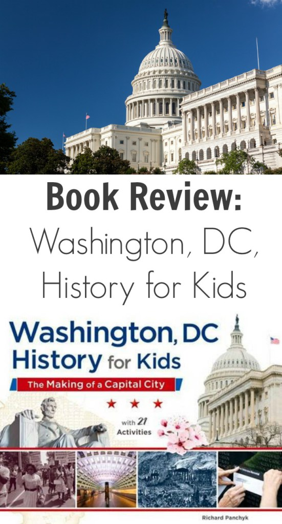 Book Review: Washington, DC, History for Kids