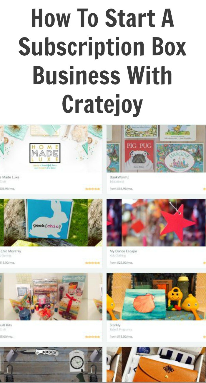 How To Start A Subscription Box Business With Cratejoy