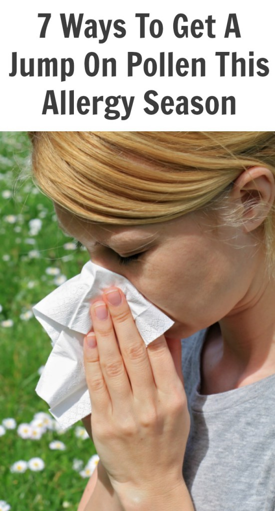 7 Ways To Get A Jump On Pollen This Allergy Season