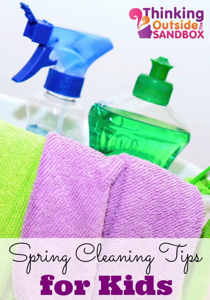 Spring Cleaning Tips for Kids