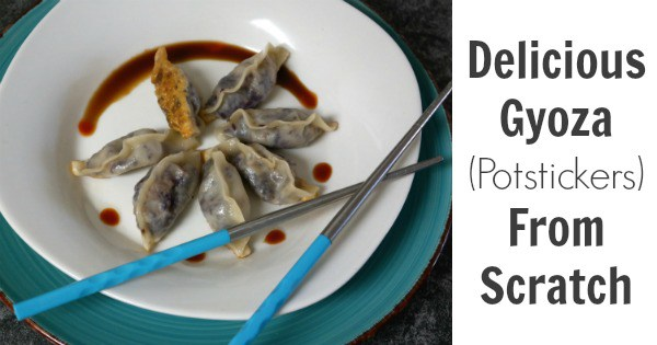 Delicious Gyoza (Potstickers) From Scratch