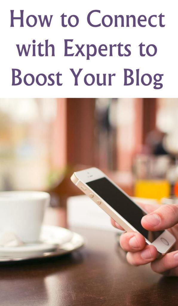 How to connect with experts to boost your blog