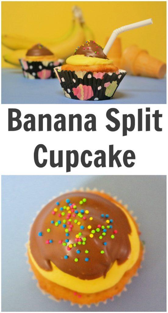 Banana Split Cupcake Recipe