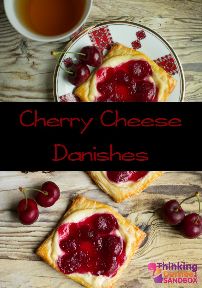 Cherry Cheese Danishes