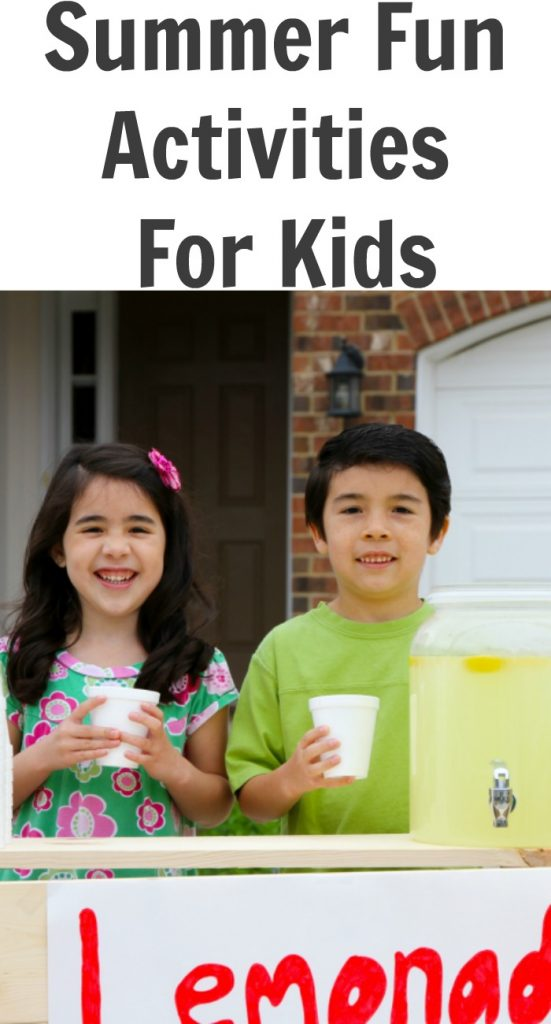 Summer Fun Activities For Kids