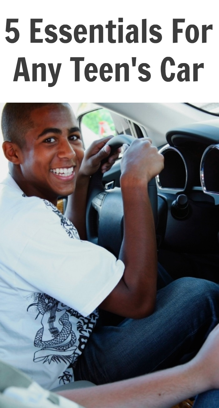 5 Essentials For Any Teen's Car