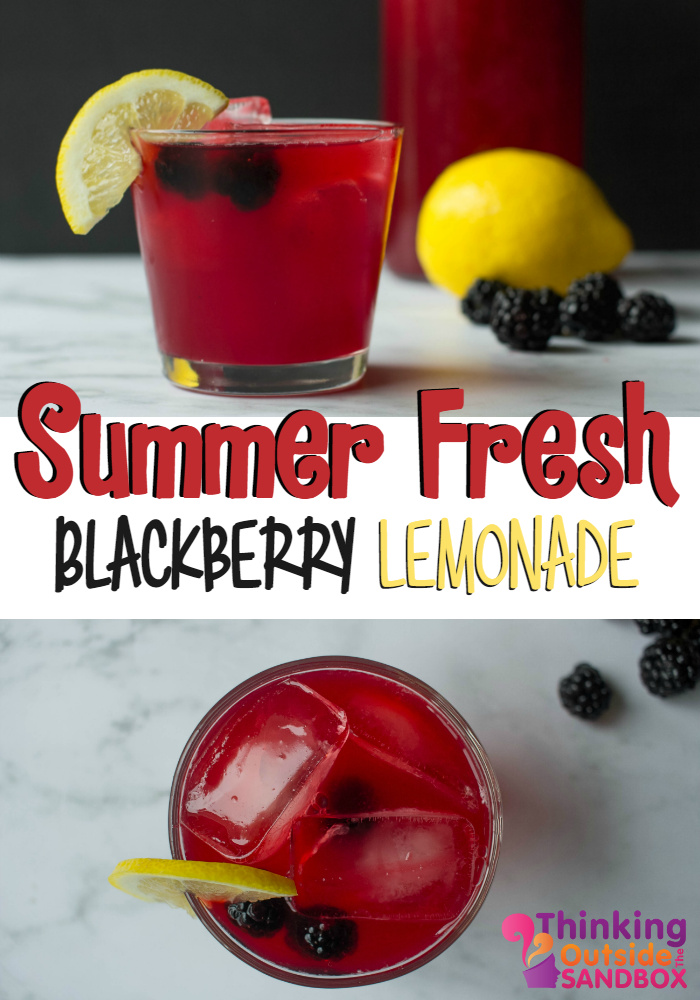 Summer Fresh Blackberry Lemonade