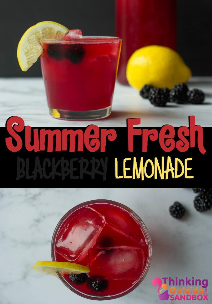Summer Fresh Blackberry Lemonade