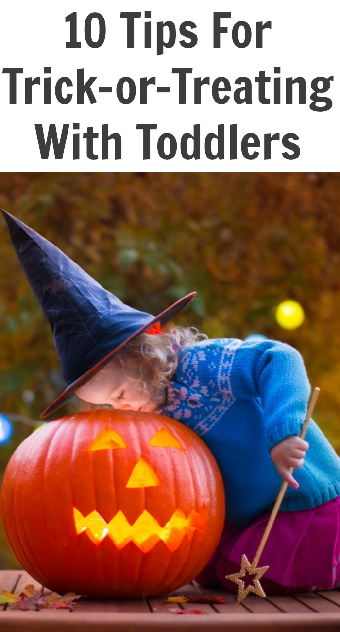 10 Tips For Trick-or-Treating With Toddlers