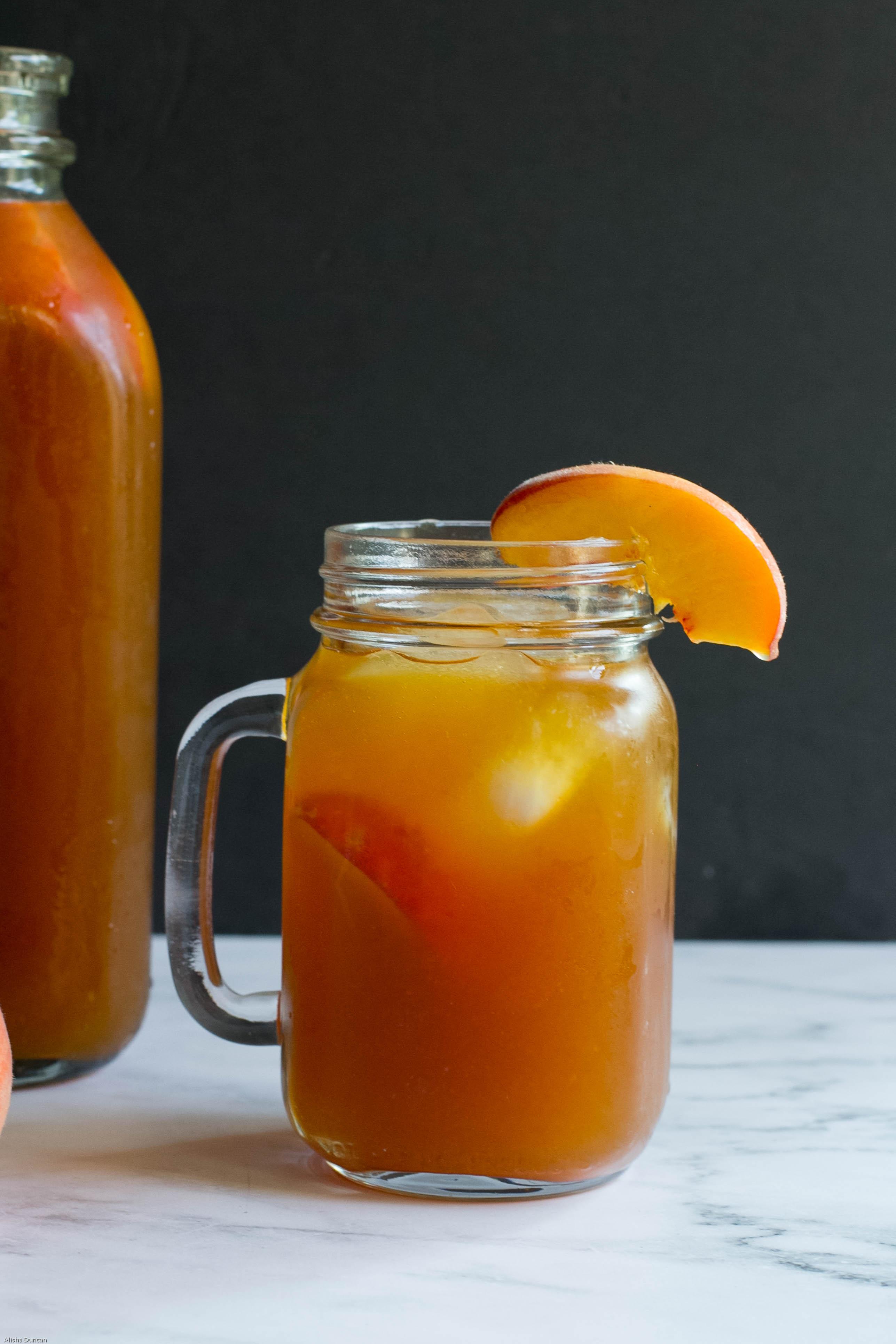 Peach Sweet Tea Recipe