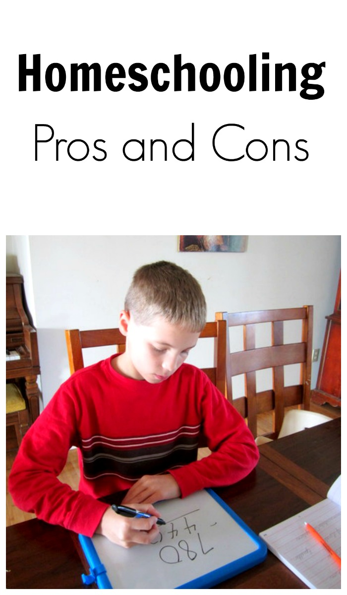 Since we've homeschooled multiple children for about 8 years, people often ask me what the pros and cons of homeschooling are.