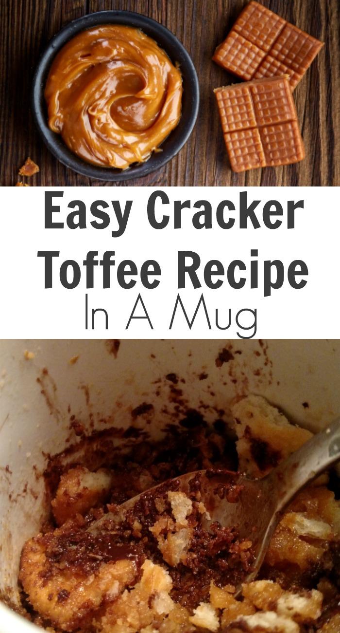 Easy Cracker Toffee Recipe In A Mug