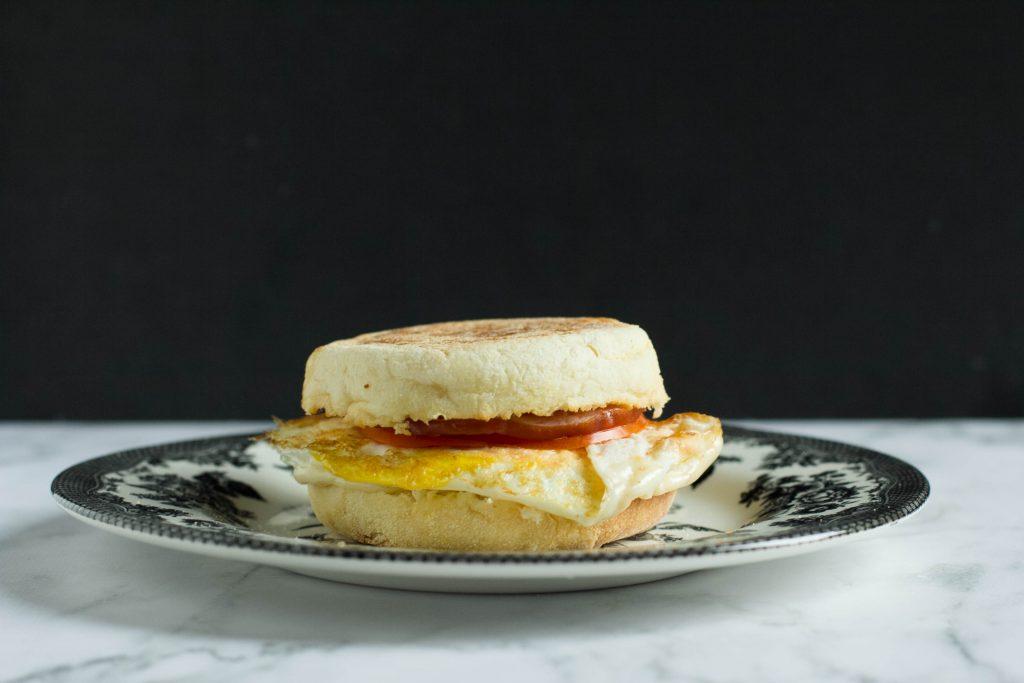 Cafe Style Breakfast Sandwich