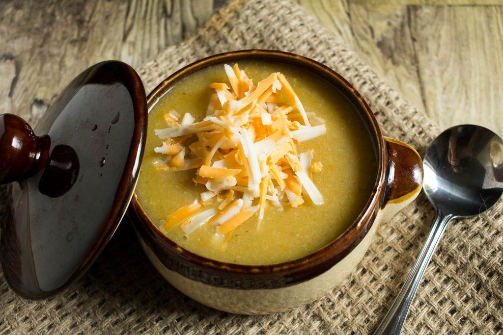 Potato Cheddar Vegetable Soup Recipe