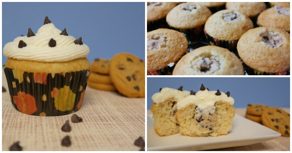 Chocolate Chip Cookie Dough Cupcake Recipe