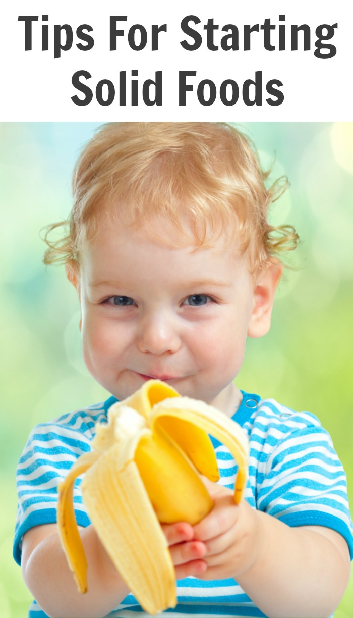 Tips For Starting Solid Foods