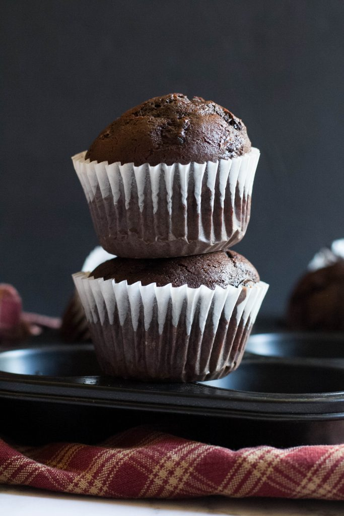 Chocolate Chip Zucchini Muffin