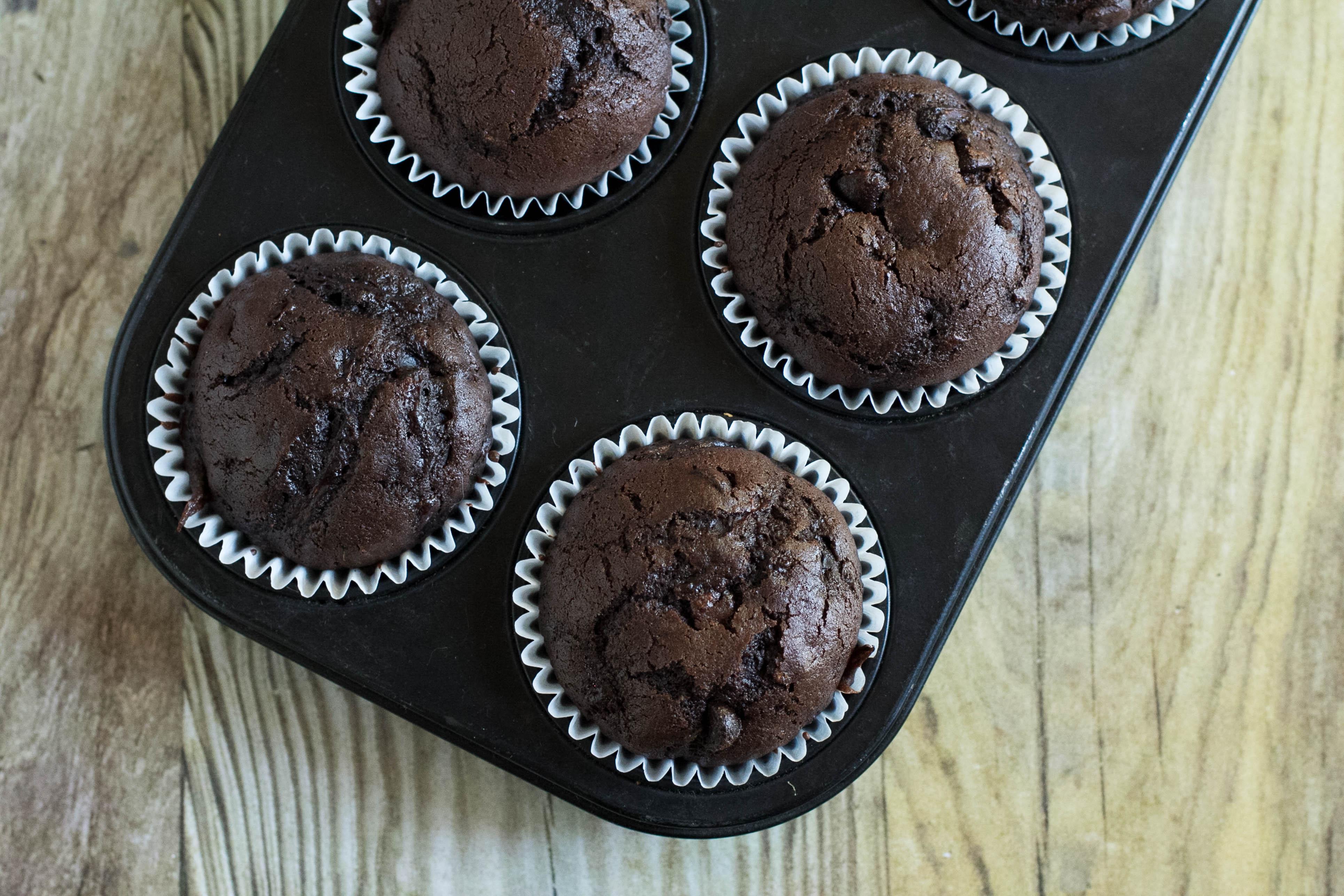 Chocolate Chip Zucchini Muffin
