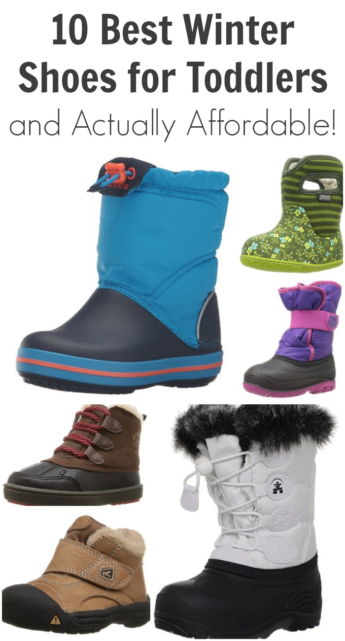 10 Best Winter Shoes for Toddlers and Actually Affordable!