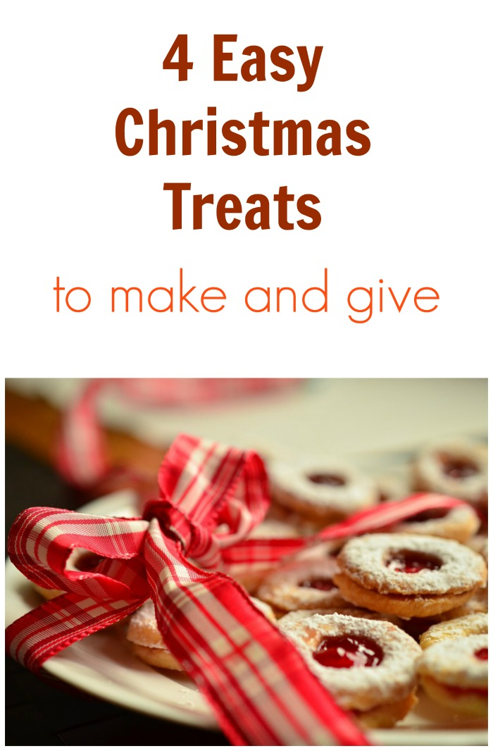 4 easy christmas treats