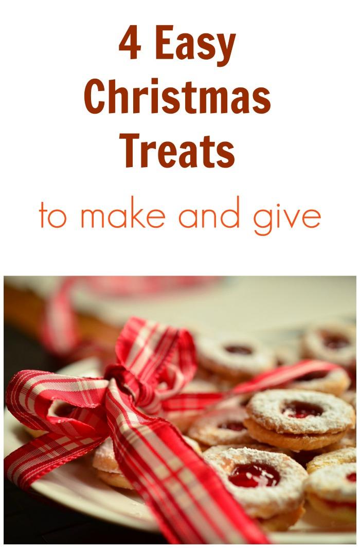 4 easy christmas treats