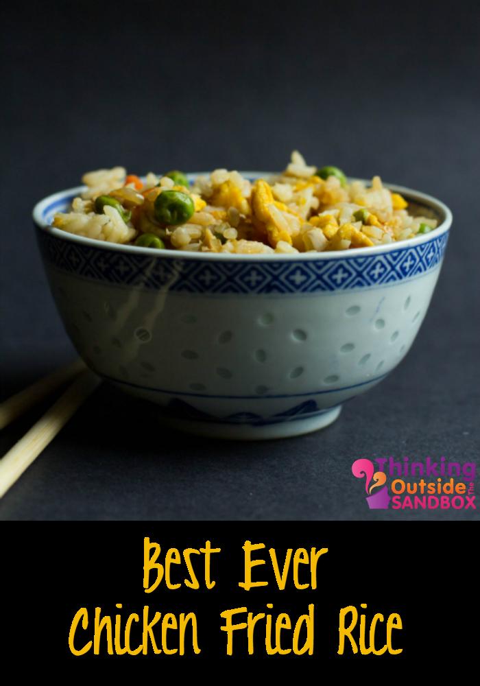 Best Ever Homemade Chicken Fried Rice Recipe